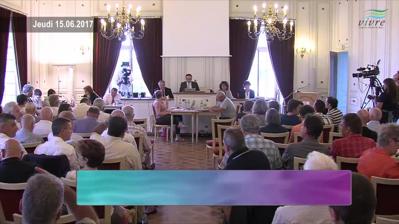 Dartfish Tv Conseil Communal D Yverdon Les Bains 15 Juin 2017